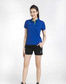 Áo thể thao nữ AC-3630 xanh bích phối xanh chuối