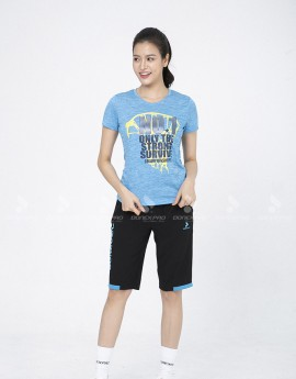 Quần thể thao nữ ASC-894-08-02 Đen phối xanh copan