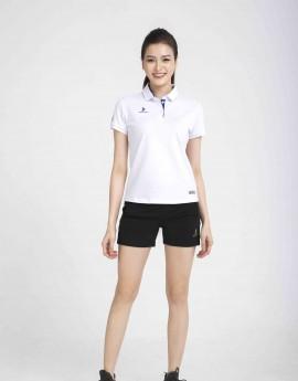 Áo thể thao nữ AC-3630 trắng phối xanh bích