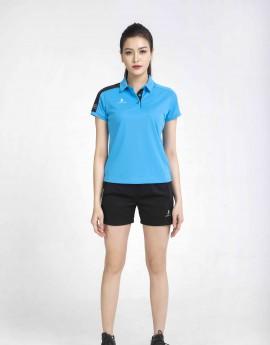 Áo thể thao nữ AC-3638 xanh copan phối đen