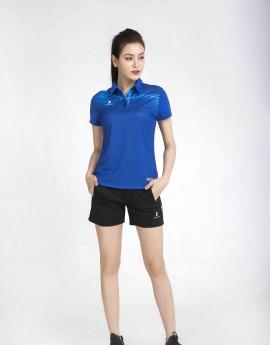 Áo thể thao nữ AC-3640 Xanh bích phối xanh copan