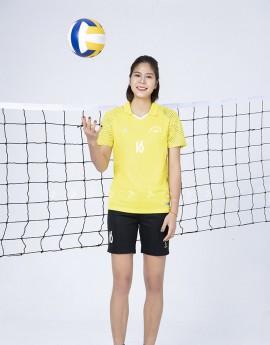 Bộ thể thao nữ ACB 5136-06-08 Vàng in Đen