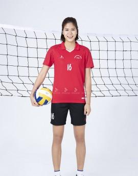 Bộ thể thao nữ ACB 5136-07-08 Đỏ in Đen