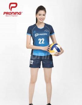 Bộ thể thao nữ ACB-5151-12-02 Navi phối xanh copan