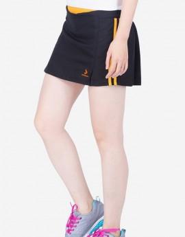 Quần váy nữ - Đen cam - 841