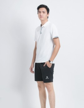 Quần thể thao nam MSC-984-08-01 đen phối trắng