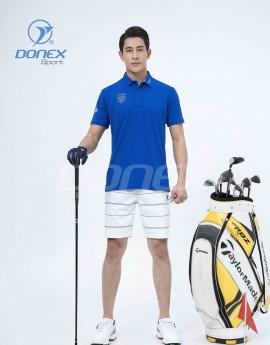 Áo thể thao Golf nam MC-9060-04-18 Xanh bích phối ghi