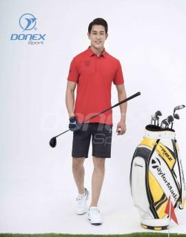 Áo thể thao Golf nam MC-9060-07-12 Đỏ phối navi