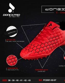 Giày đá bóng FC2001-02-07 màu đỏ