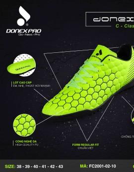 Giày đá bóng FC2001-02-10 màu dạ quang