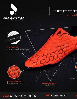 Giày đá bóng FC2001-02-13 màu cam