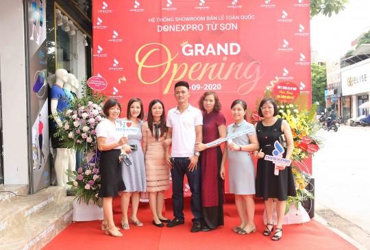 Tưng bừng khai trương Donexpro Factory Store Từ Sơn