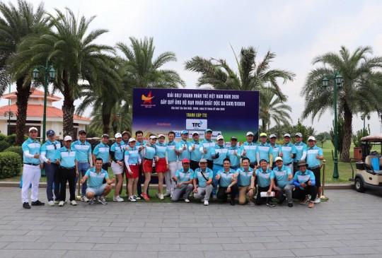 Giải Golf doanh nhân trẻ 2020 gây quỹ ủng hộ nạn nhân chất độc d